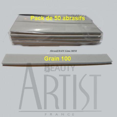 50 Abrasifs MINI BAFF 100