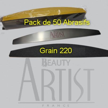 50 Abrasifs BANANE SOFT 220